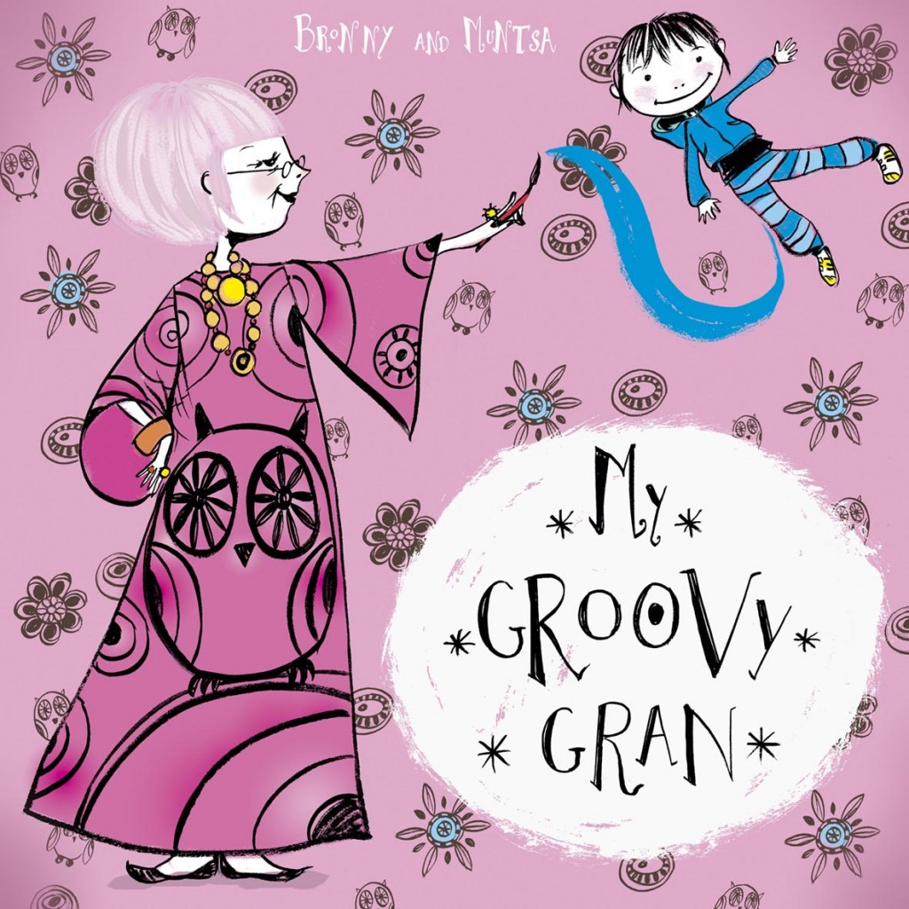 My Groovy Gran childrens book cover